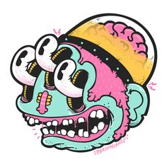 Sticker Jam by Mitsumi Flores, via Behance