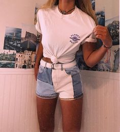 bottom outfits trending today to look trendy 18 Mode Outfits, Girl Outfits, Fashion Outfits, Fashion Styles, Trendy Fashion, Dress Outfits, Surf Fashion, Hip Hop Outfits, Kawaii Fashion