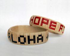 Aloha to Japan -  Hope to Japan Hawaiian Crafts, Cuff Bracelets, Japan, Japanese