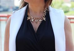 This shark tooth necklace makes us want summer to hurry up!