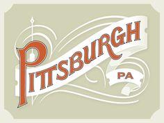 Dribbble - Pittsburgh by Matt Braun