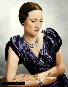 "Wallis Simpson (Bessie Wallis Warfield-Spencer-Simpson) (1896-1986) USA wife of Ex-King Edward VIII ""David"" (1894-1972) UK, Duchess of Windsor."