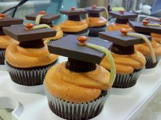 Graduation cupcakes for @Allie Carter