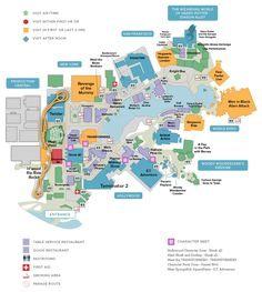 Simplified map of Magical World of Harry Potter, Universal Studios Florida | Universal Orlando Discount Tickets, crowds