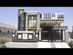 House Front Wall Design, Single Floor House Design, House Roof Design, House Outside Design, House Ceiling Design, Village House Design, Duplex House Design, Kerala House Design, 30x40 House Plans