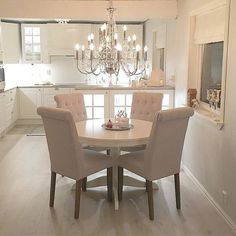 10 Creative Ideas for Dining Room Walls Dining Room Table Decor, Dining Room Walls, Dining Room Sets, Dining Room Design, Living Room Decor, Luxury Dining Room, Home Room Design, Home Decor Kitchen, Home And Living