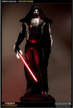 Estatua Star Wars. Darth Malgus, 224cm. La Antigua República. Sideshow Collectibles