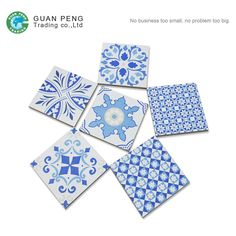 Check out this product on Alibaba.com APP Chinese Elegant Blue White Commercial Restaurant Kitchen Tile Ceramic Tiles Floor Prices