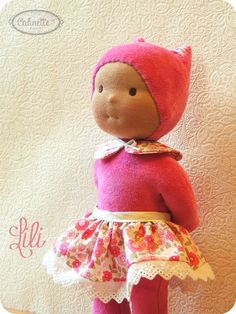 Lili Waldorf doll 10 by Calinette on Etsy, $54.00