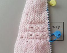 "JUBILOCIOS: JERSEY DE BEBÉ, CANESÚ DE OCHOS (JERSEY ""PRINCESA"") Baby Knitting Patterns, Baby Cardigan Knitting Pattern, Knitting Wool, Knitting For Kids, Crochet For Kids, Knitting Designs, Free Knitting, Baby Girl Cardigans, Baby Girl Dresses"