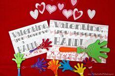 No-Candy Valentine: You Deserve A Hand (Clapper)