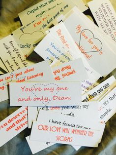 365 days of LOVE NOTES...UNCUT...Valentine's by TexasHookandNeedle