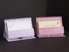 Business Card Easel Tutorial - Splitcoaststampers