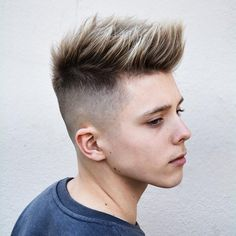 barberdeano teen boy haircut spiky fade latest mens hairstyles 2018