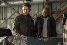 <p>NY SERIE: Ryan Phillippe som Bob Lee Swagger og Omas Epps som Isaac Johnson i «Shooter», basert på filmen ved samme navn med Mark Wahlberg i hovedrollen.</p>