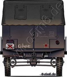 "Engines of the Red Army in WW2 - Trophy ""Einheitsdiesel"", 2.5-ton, 6x6, Cargo Truck"