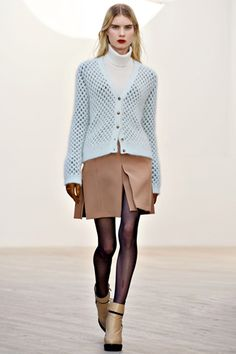 Light blue tan...booties, don't forget the tights