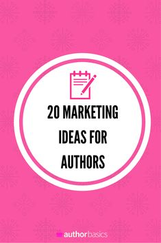 Marketing ideas for authors