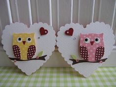 Sweet n Cute Owl Embellishments   Flickr - Photo Sharing!
