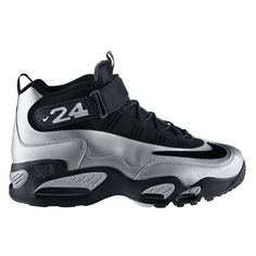 """da6cfe88b023ac Sneaker Showdown """"Metallic"""" Ken Griffey Jr. Nikes ( 15) ❤ liked on"""