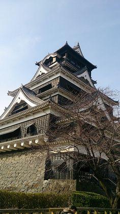 熊本城 Japanese Castle, Japanese Temple, Nagasaki, Hiroshima, Shiro, Paisajes Anime, Kumamoto, Japanese Architecture, Japanese Culture