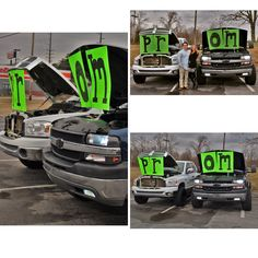 Truck prom proposal #country #promproposal #trucks #redneck