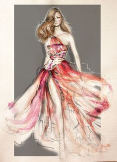 Versace Couture 2012: Fashion Illustration http://kasiagorgeous.tumblr.com/post/27245753828/versace1