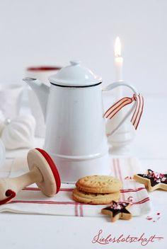 Glitzertop + Stempelcookies (Liebesbotschaft)