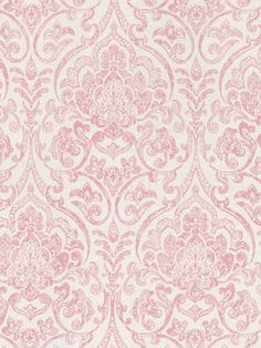 Interior Place - Pink Boho Damask Wallpaper, $31.05 (http://www.interiorplace.com/pink-boho-damask-wallpaper/)