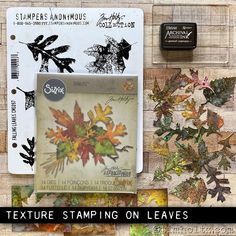 Embossing Techniques, Stampers Anonymous, Ranger Ink, Fall Cards, Distress Ink, Tim Holtz, Autumn Leaves, Mini Albums, Art Projects