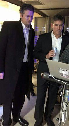 Jim and Tim Caviezel