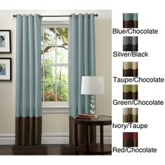 Lush Decor 84-inch Prima Curtain Panel Pair | Overstock.com Shopping - The Best Deals on Curtains