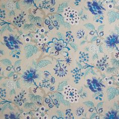 The G7679 Cobalt upholstery fabric by KOVI Fabrics features Floral pattern and Blue as its colors. It is a Made in USA, Print, Cotton type of upholstery fabric and it is made of 89% Cotton, 11% Rayon material. It is rated Exceeds 15,000 double rubs (heavy duty) which makes this upholstery fabric ideal for residential, commercial and hospitality upholstery projects. This upholstery fabric is 54 inches wide and is sold by the yard in 0.25 yard increments or by the roll. Call or contact us if…
