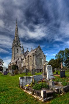 ✮ The Marble Church, (St.Margaret Church), Bodelwyddan North Wales UK