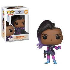 Vinyl Figure Sombra favorite characters from Blizzard Entertainment's Overwatch get the Pop! This Overwatch Pop! Vinyl Figure features Sombra as an adorable stylized figure. Figurines Funko Pop, Funko Figures, Pop Vinyl Figures, Overwatch Pop Vinyl, Overwatch Pop Figures, Pokemon Go, Geeks, Shopping, Anime Characters