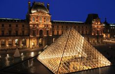 The Louvre One of the world's largest museums located in Paris, France. Feng Shui, Paris In September, Rio Sena, Louvre Paris, Glass Building, Luxembourg Gardens, Most Romantic Places, Travel Channel, Paris Travel