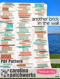 Another Brick in the Wall Downloadable PDF Quilt PatternCarolina Patchworks