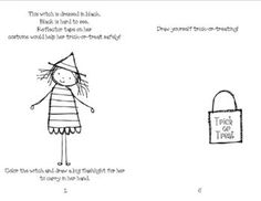 Have Your Students Practice Halloween Safety Using This Fun Mini Book It Includes Little Rhymes Coloring And Math Skills Send These Books Home