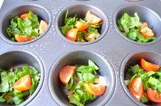 Ei-muffins maken. Top als Lunch of tussendoor en ideaal om left-overs in te verwerken!!!!