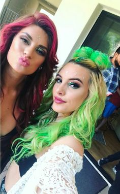 Lele Pons and Hannah Stocking at coachella day two.