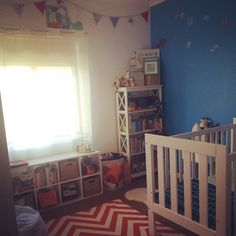 Bright and colourful beautiful little boys room