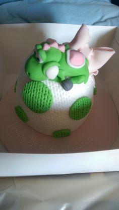 Yoshi Cake