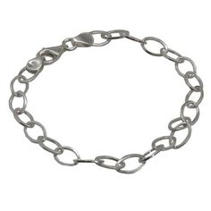 Amazon.com: Sterling Silver Cable Chain Bracelet for Women: ShalinCraft: Jewelry