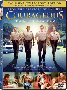 Courageous - The Movie - DVD | Honor begins at home. | $17.92 at ChristianCinema.com