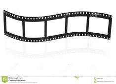Blank Film Strip Stock Photography - Image: 22291282