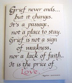 Mom Quotes From Daughter Discover Sympathy Calligraphy Card x -- Grief Quote Card Sympathy Card card size x inches blank inside The Words, Cool Words, Phrase Cute, Quotable Quotes, Me Quotes, Quotes On Grief, Worth Quotes, Irish Quotes, Writer Quotes