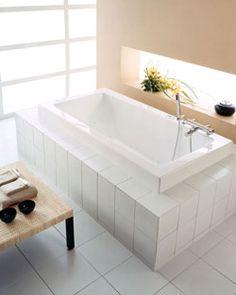 """Neptune Zen 3060 Mass-Air/Whirlpool Combo Tub - 59-3/4"""" x 30"""" x 21-3/4""""- ZEN3060C #BathroomRemodel #BathtubIdeas #DropInBathtub"""
