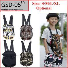 Dog Front Chest Backpack Pet Bag Dog Cat Carrier Five Holes Backpack Dog Outdoor Carrier Tote Bag Sling Holder Mesh