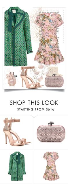 """""""Thinking Pink!!!"""" by diane-fritz-sager on Polyvore featuring Gianvito Rossi, Bottega Veneta, Marco de Vincenzo and Zimmermann"""