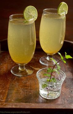 CHEF DARSHAN DABRAL: SHIKANJI -INDIAN LEMONADE